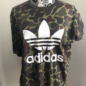 Adidas Camo T shirt Size XL